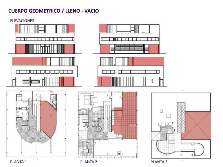 CUERPO GEOMETRICO / LLENO - VACIO
