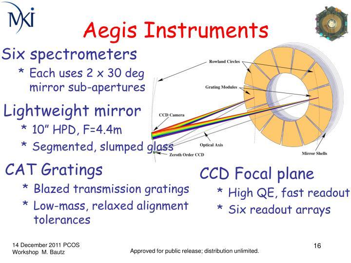 Aegis Instruments