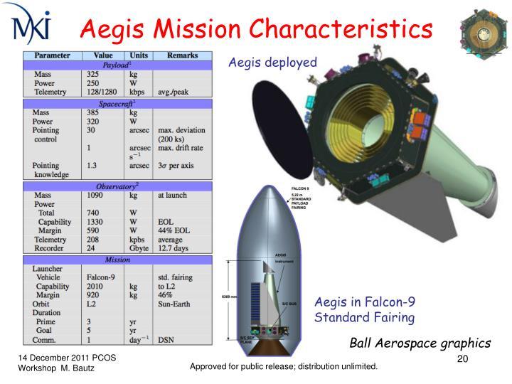 Aegis Mission Characteristics