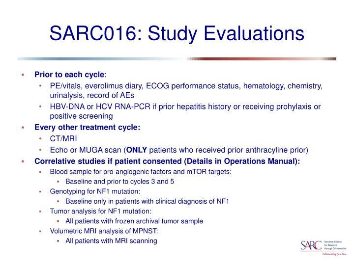 SARC016: