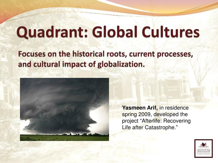 Quadrant: Global Cultures