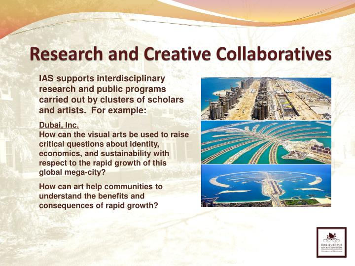 Research and Creative Collaboratives