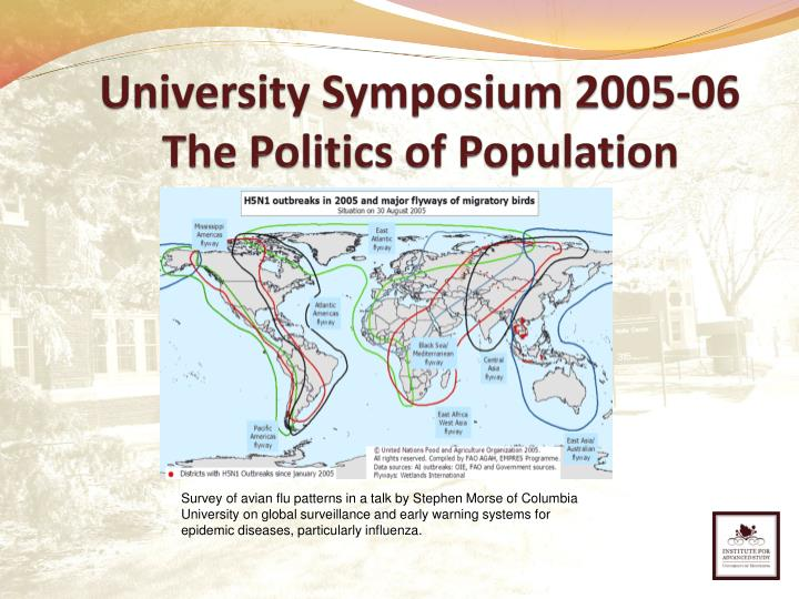 University Symposium 2005-06