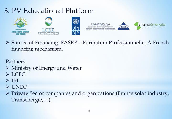 3. PV Educational Platform