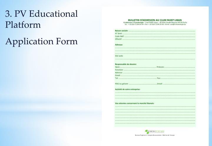 3. PV Educational