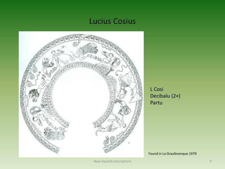 Lucius Cosius