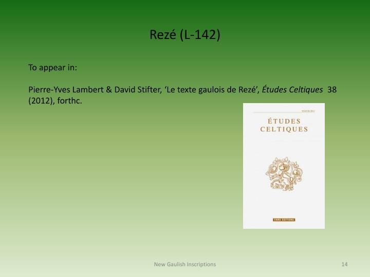 Rezé (L-142)