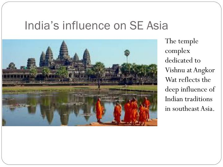 India's influence on SE Asia