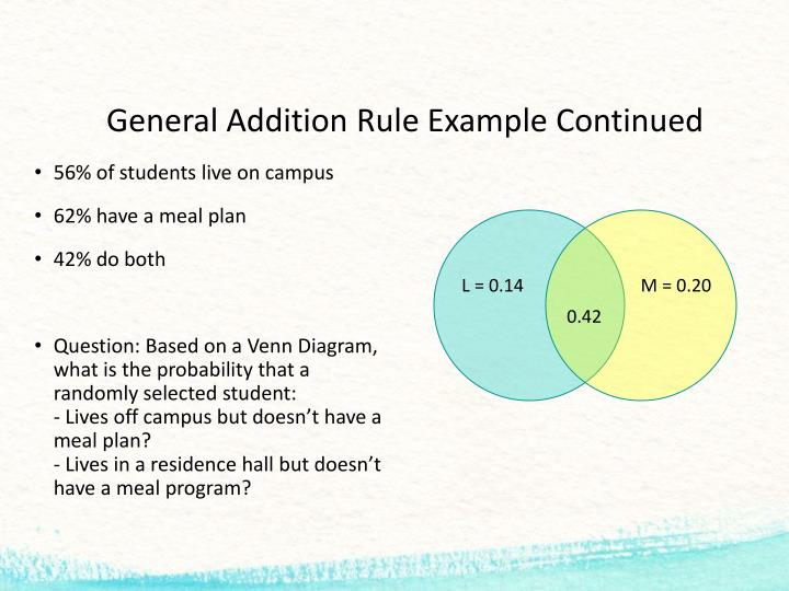 ppt - probability rules powerpoint presentation