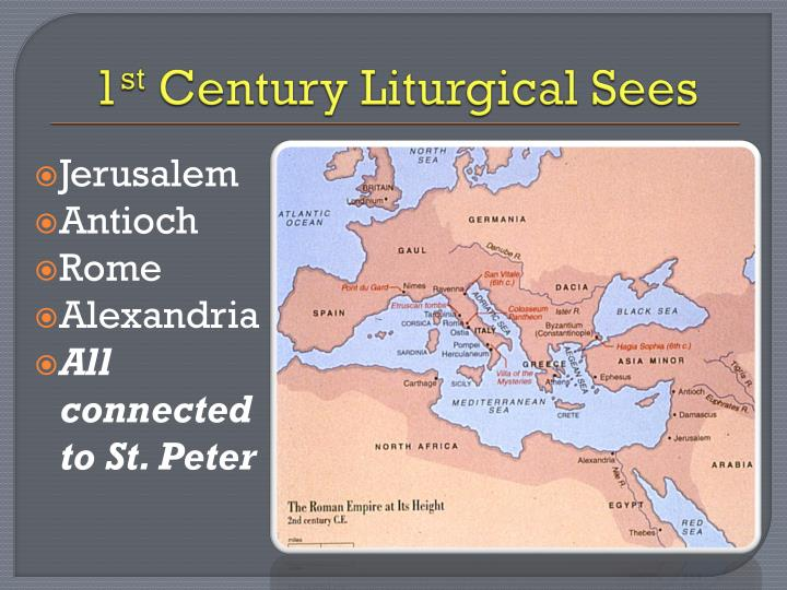 1 st century liturgical sees