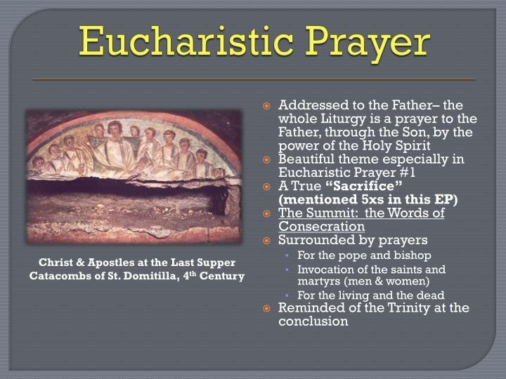 Eucharistic Prayer