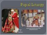 papal liturgy