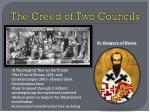 the creed of two councils
