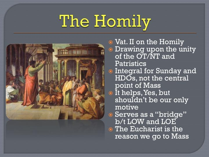 The Homily