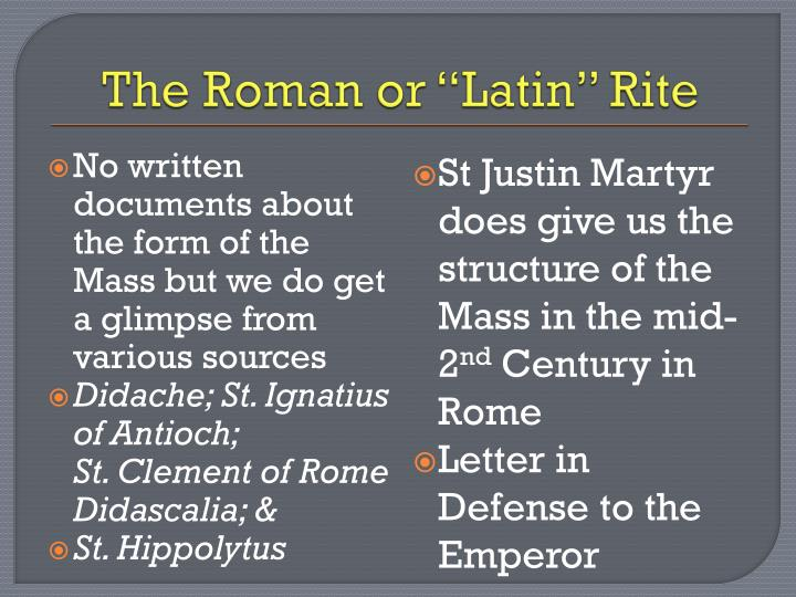 The Roman or