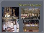 western liturgies