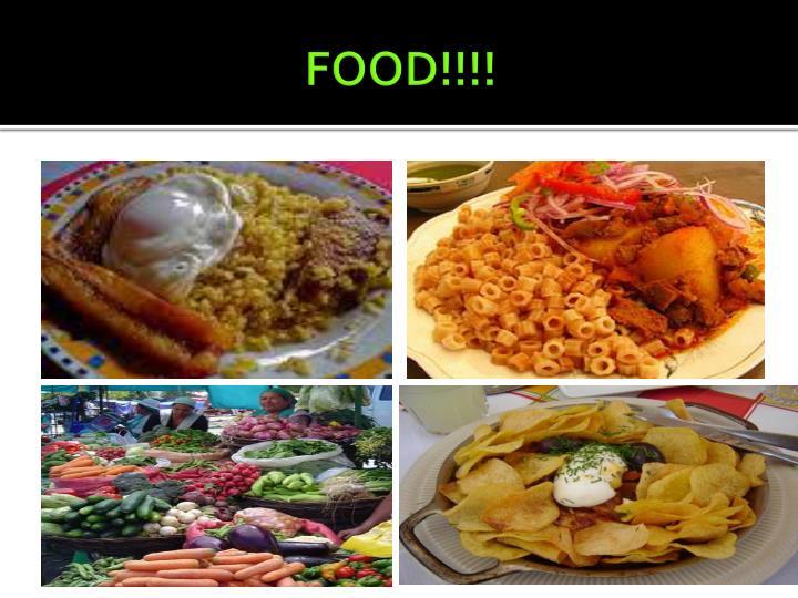 FOOD!!!!