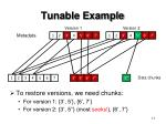 tunable example