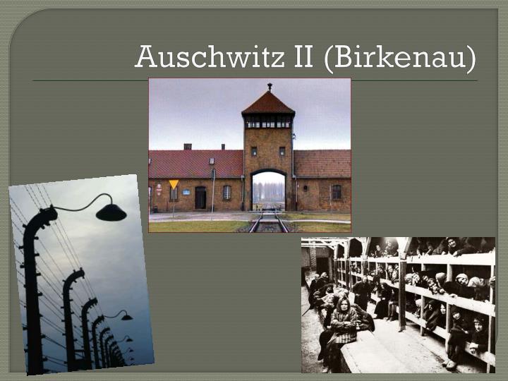 Auschwitz II (