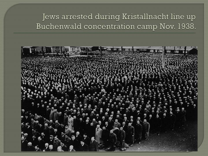 Jews arrested during