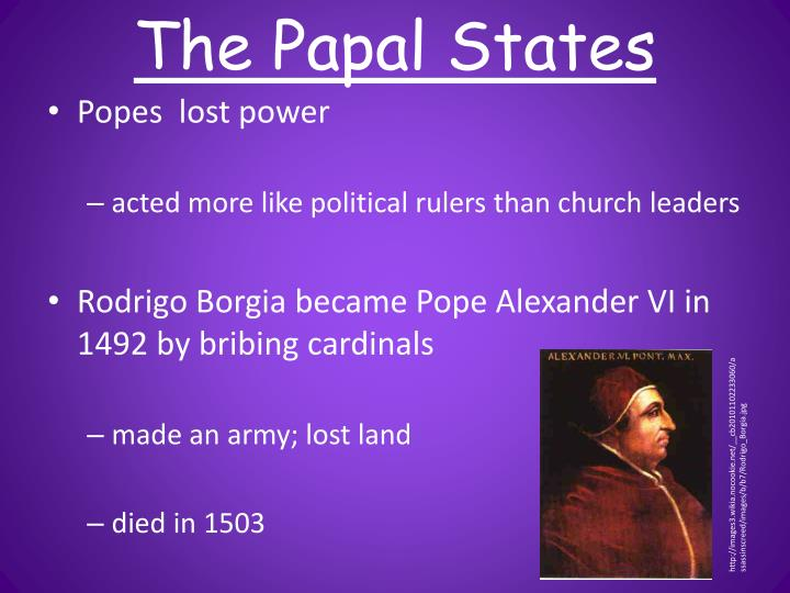 The Papal States