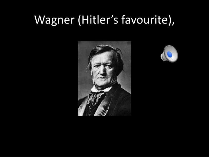 Wagner (Hitler's