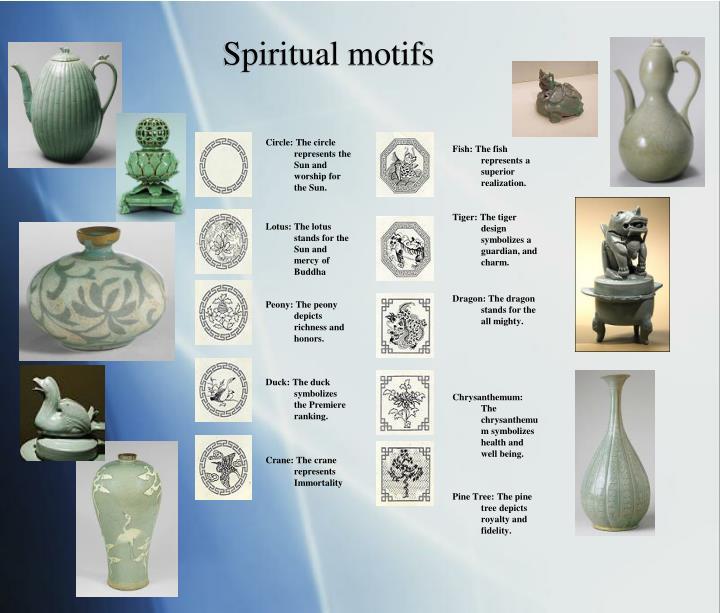 Spiritual motifs