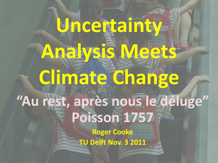 Uncertainty analysis meets climate change