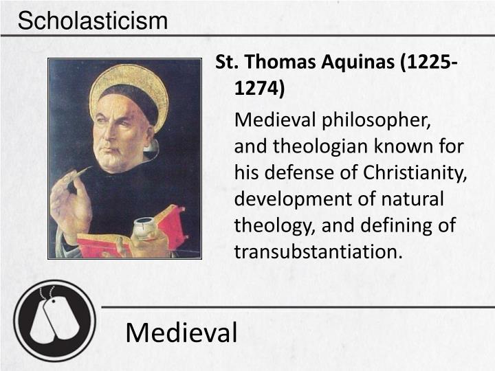 Scholasticism
