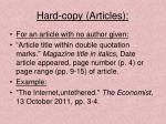 hard copy articles1