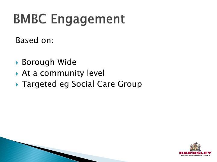 BMBC Engagement