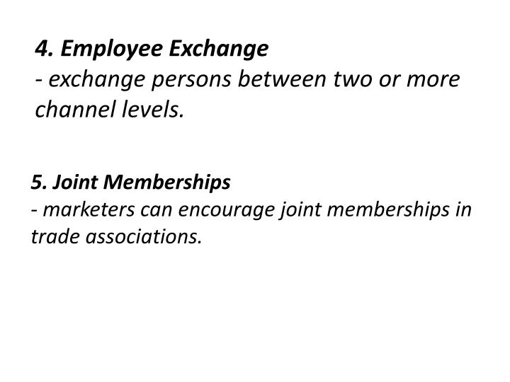4. Employee Exchange