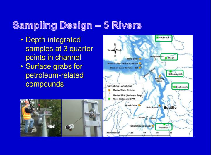 Sampling Design – 5 Rivers