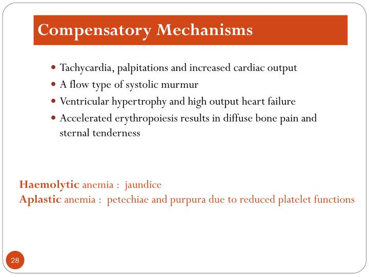 Compensatory Mechanisms