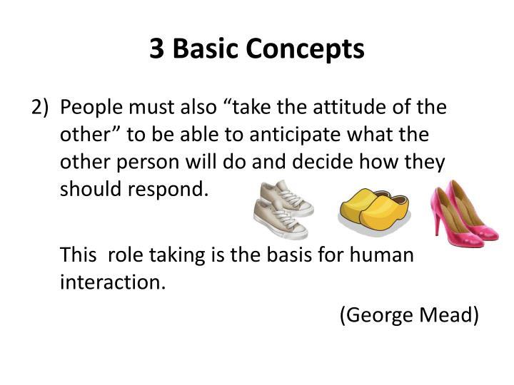 3 Basic Concepts