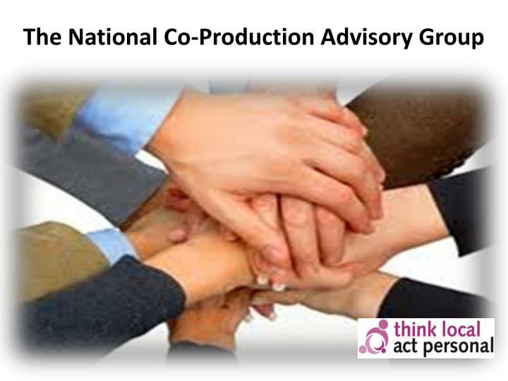 The National Co-Production Advisory Group