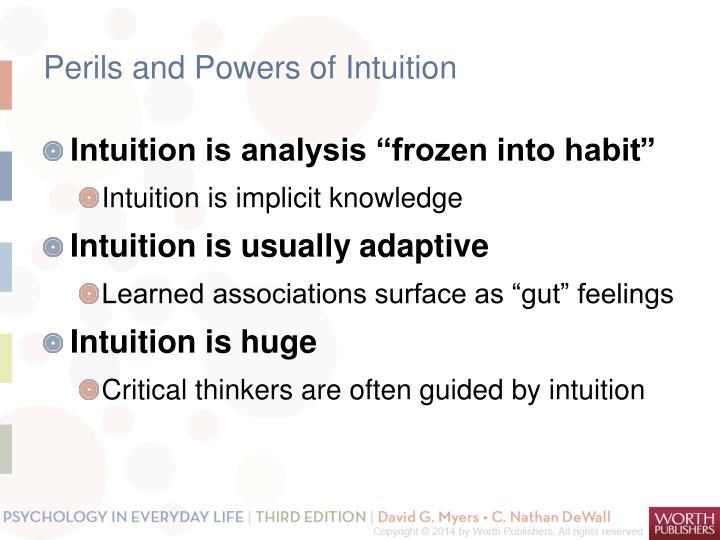 Perils and Powers of Intuition