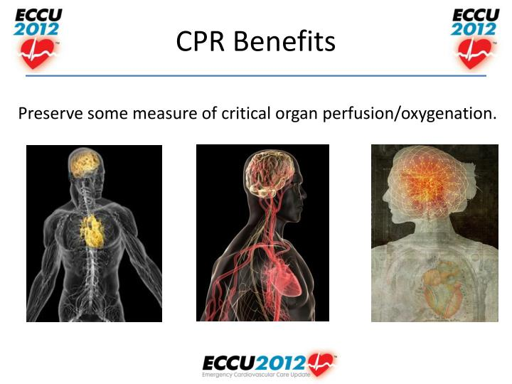 Preserve some measure of critical organ perfusion/oxygenation.
