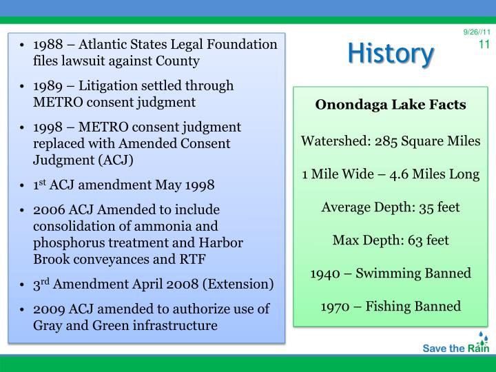 1988 – Atlantic States Legal Foundation files lawsuit against County