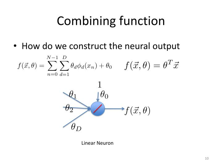 Combining function