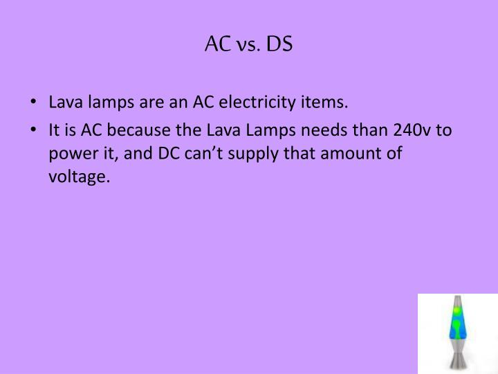 Ac vs ds