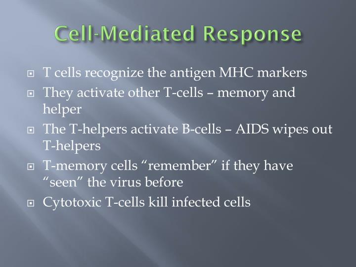 Cell-Mediated Response