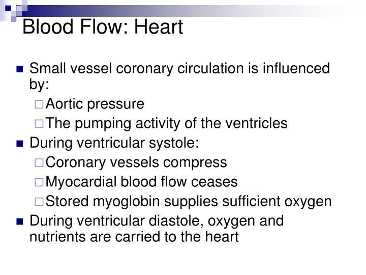 Blood Flow: Heart