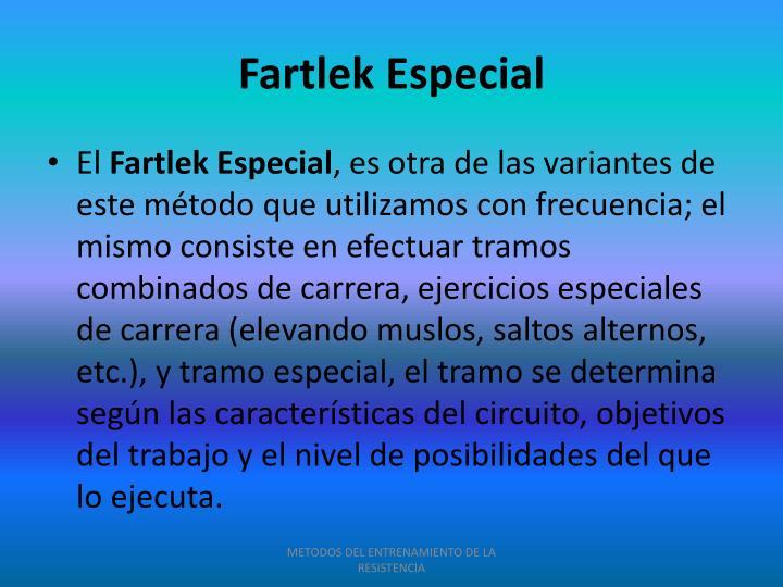 Fartlek Especial