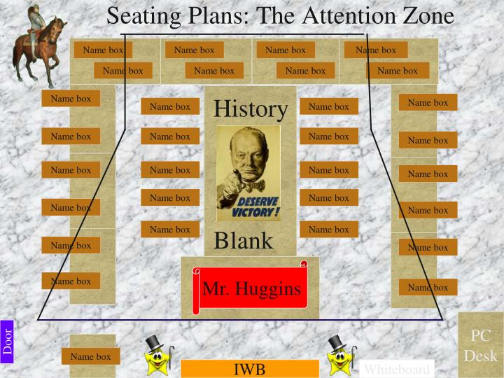 Seating Plans: The Attention Zone