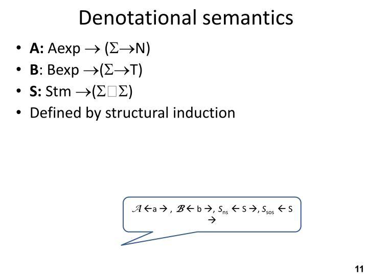 Denotational