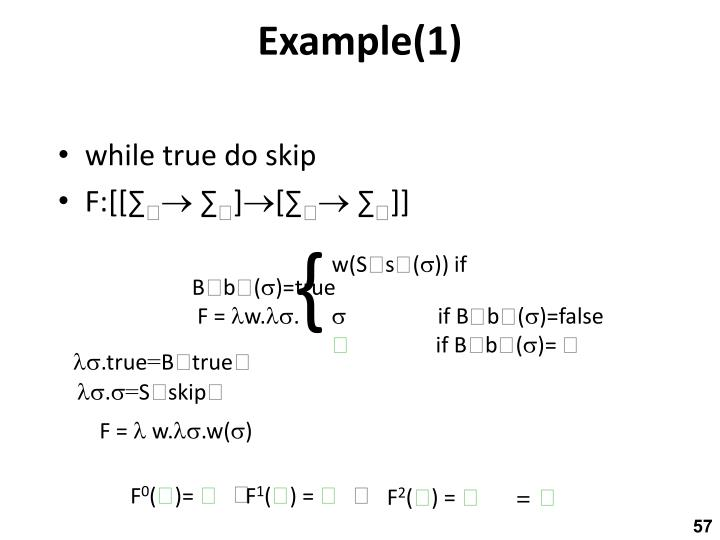 Example(1)