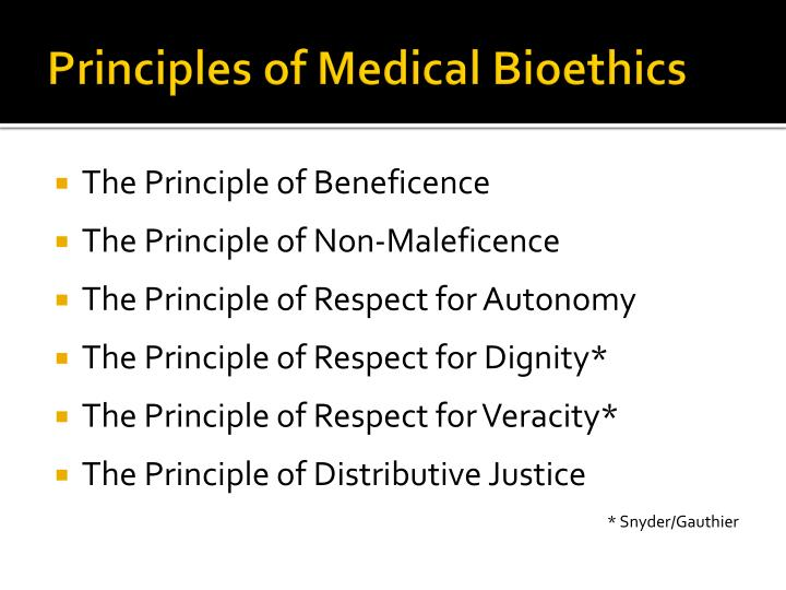 principles of ethics respect for autonomy beneficence The four principles of health care ethics are autonomy, beneficence, non-maleficence, and justice the four principles of health care ethics the basic definitions of each of the four principles of health care ethics are commonly known and used often in the english language, but they take on special meaning when being utilized in a medical setting.