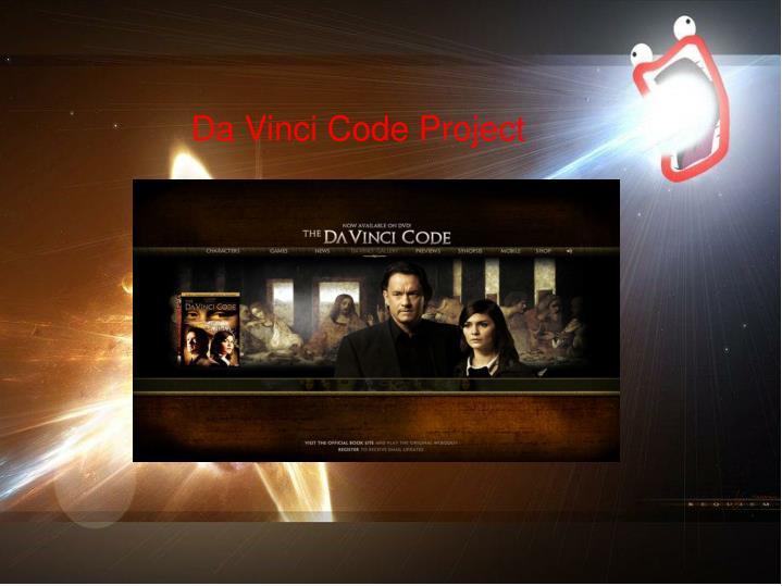 Da Vinci Code Project