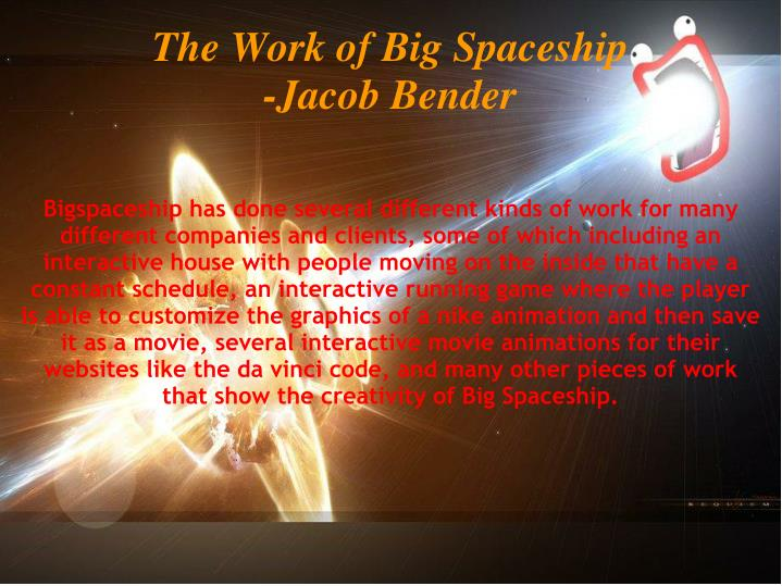 The Work of Big Spaceship